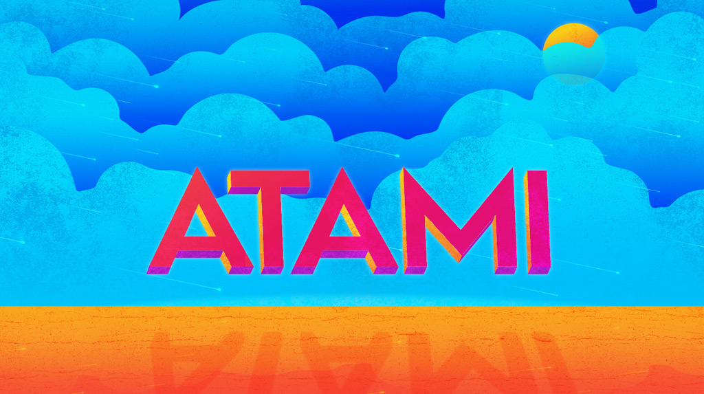Free Font   Atami