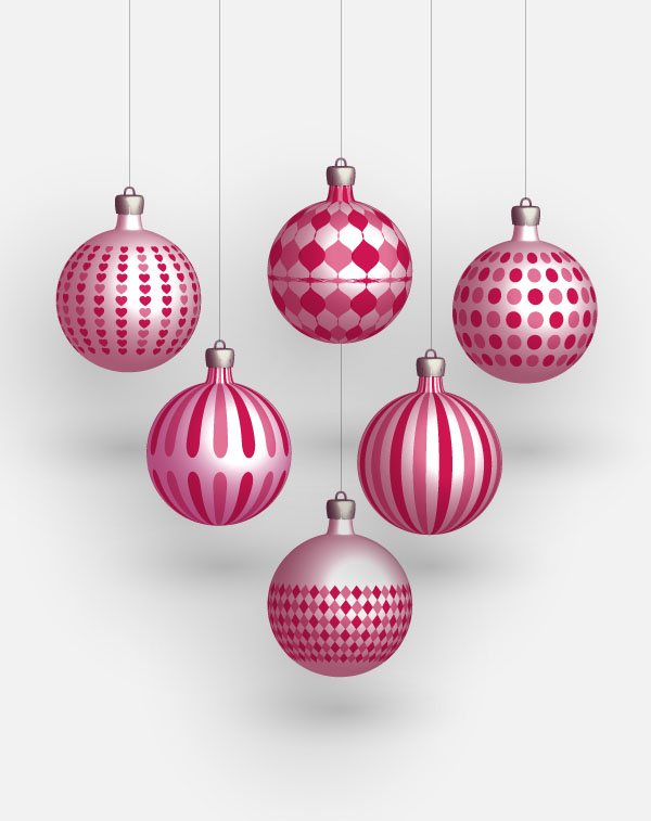 Christmas Balls PNG High quality