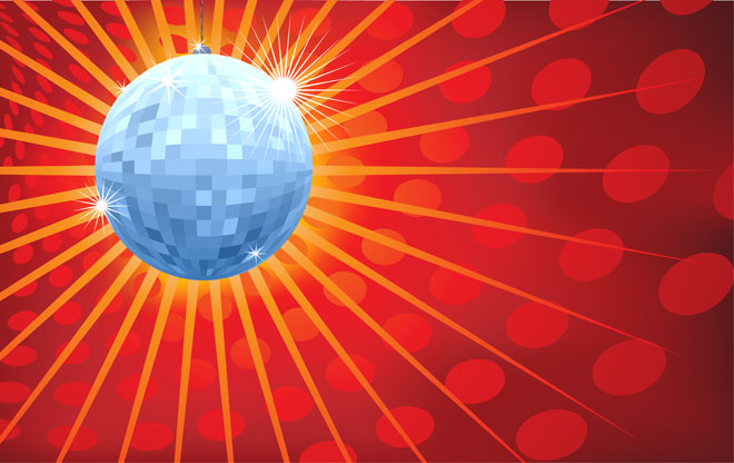 Glitterball Invite