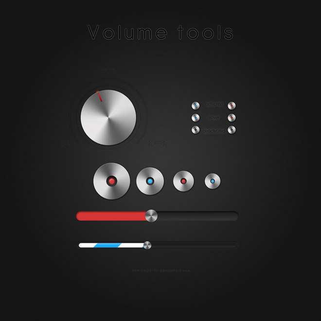 Volume tools + PSD nepst3r
