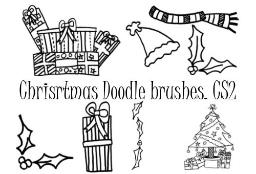 Christmas Doodles Brushes