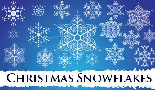 Christmas Snowflakes Brushes