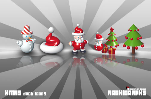 Christmas Dock Icons   PNG