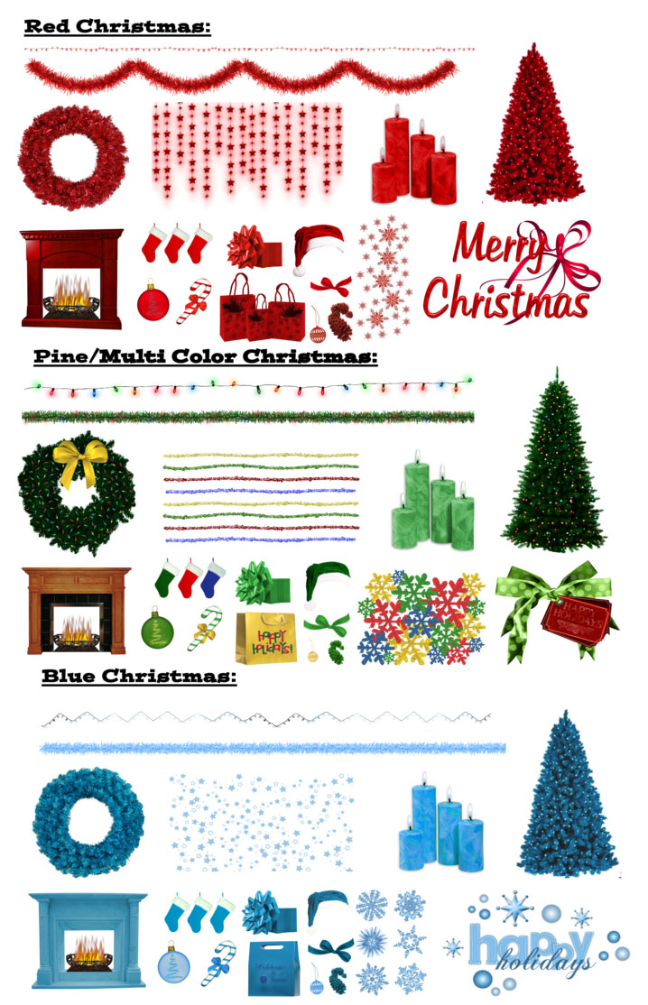 christmas png by riogirl9909stock