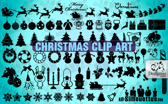Christmas clip art Collection