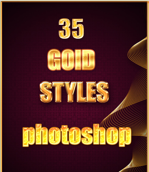 gold styles