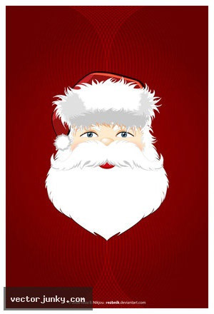 Santa Claus Vector   EPS AI