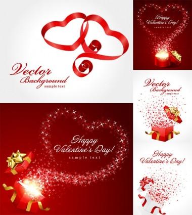 Valentine Day Gift Ribbon Clip art