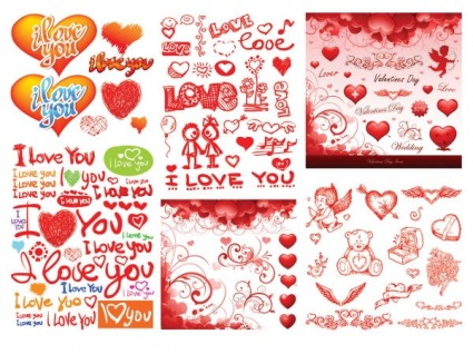 Valentine day vector 3