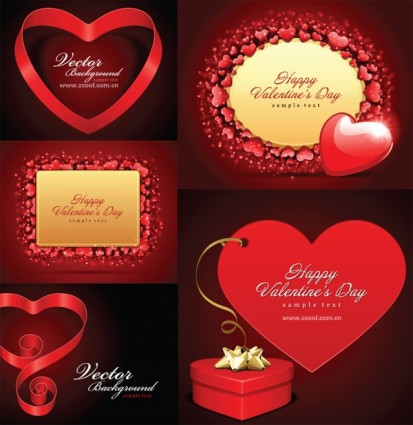 Valentine day vector elements 4