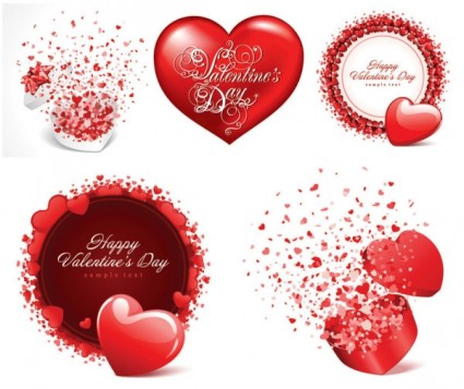 valentine day vector elements 5