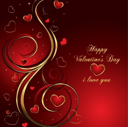 Valentine's Day Creative Vector Design