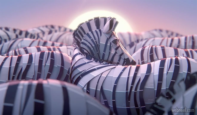 3d animated tV commercial
