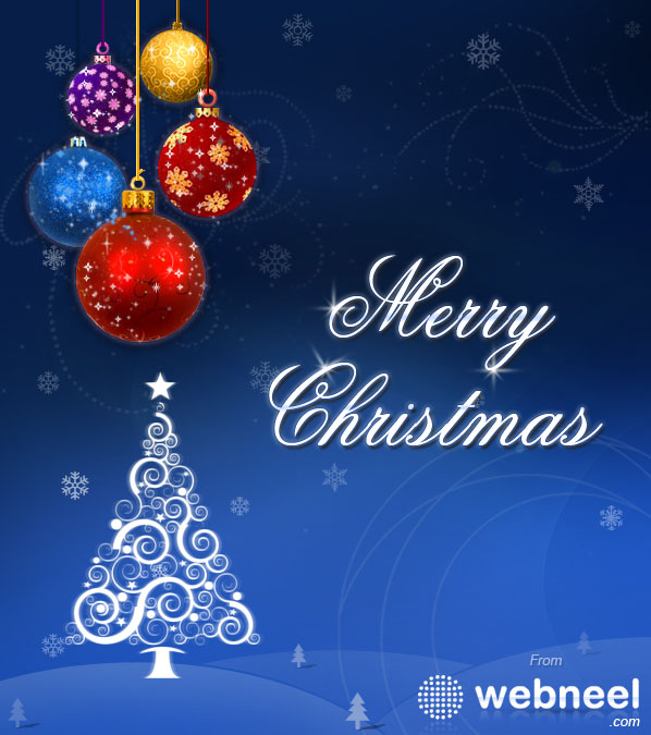 How To Create A Beautiful Christmas Greeting Card Design