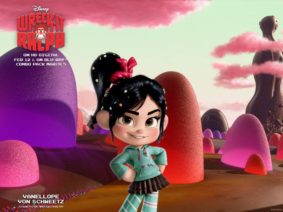 disney characters wreck it ralph