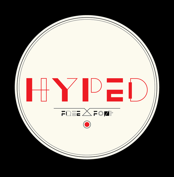 hyped free font