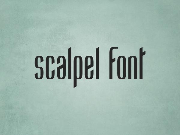 Scalpel Font (  )
