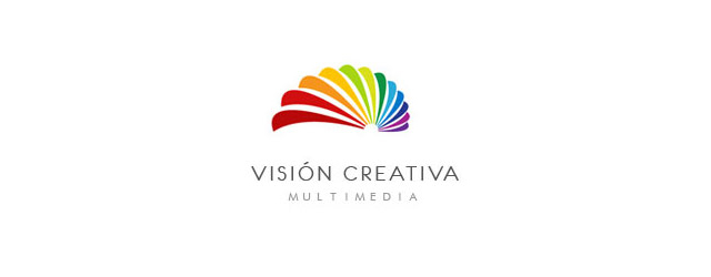multi color logo