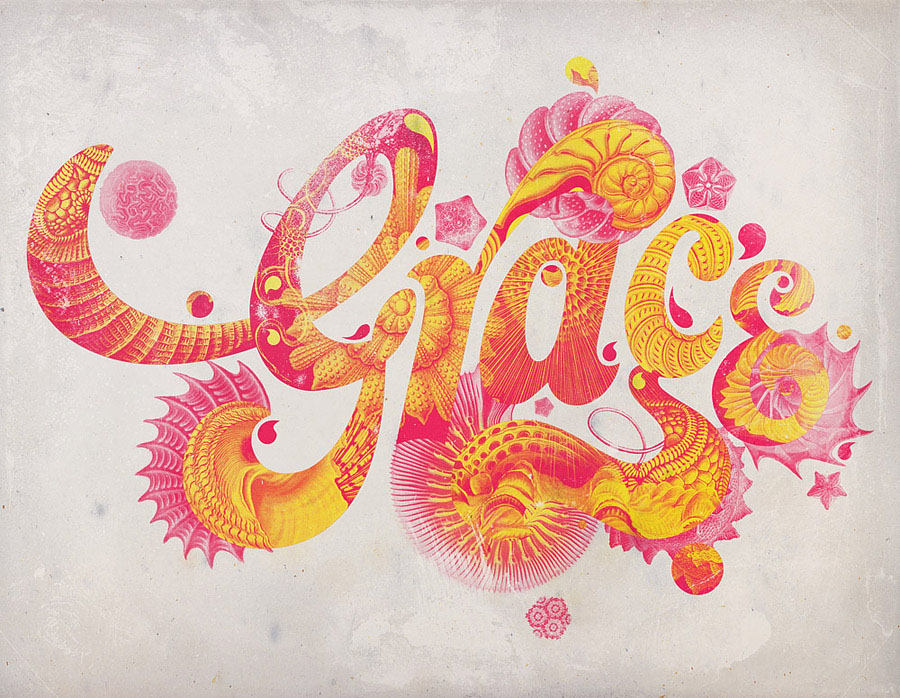 beautiful typography design