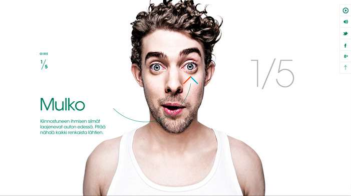 Homo studiosus – interested man ( 25 Animated home page web design examples )