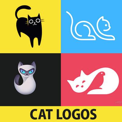 65 Creative Cat Logo Design Ideas For Your Inspiration