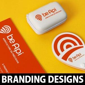 Creative Branding Design and Logo Design Process of BeApi by Grapheine