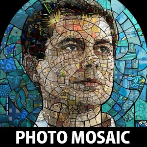 15 Photo Mosaic manipulations of Pete Buttigieg by Charis Tsevis