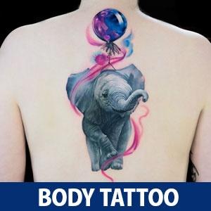Photo Realistic Colorful Animal Tattoos by Natasha Lisova