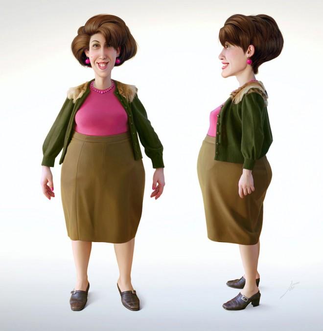 3d character design 4