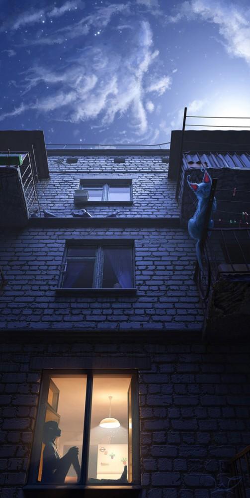 3d illustrations by nikita veprikov