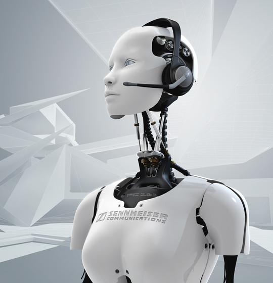 3d robot bybenedict campbell