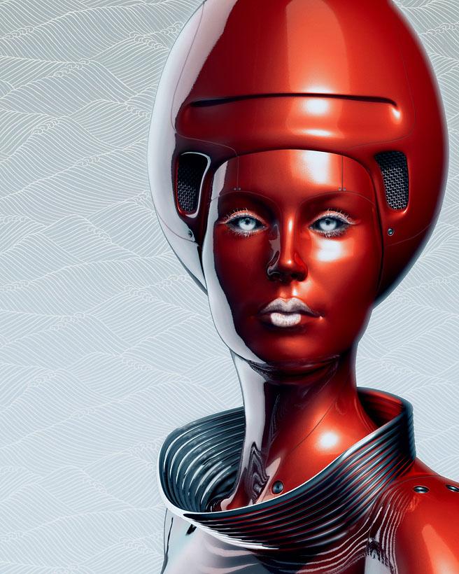 3d robot bybenedict campbell 3
