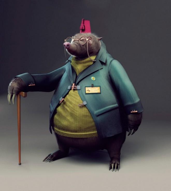 3d character design by jorgemonterobruna