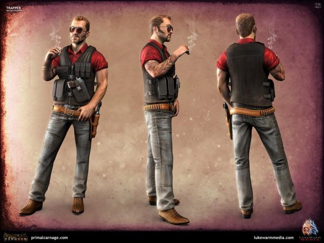 3d character model design