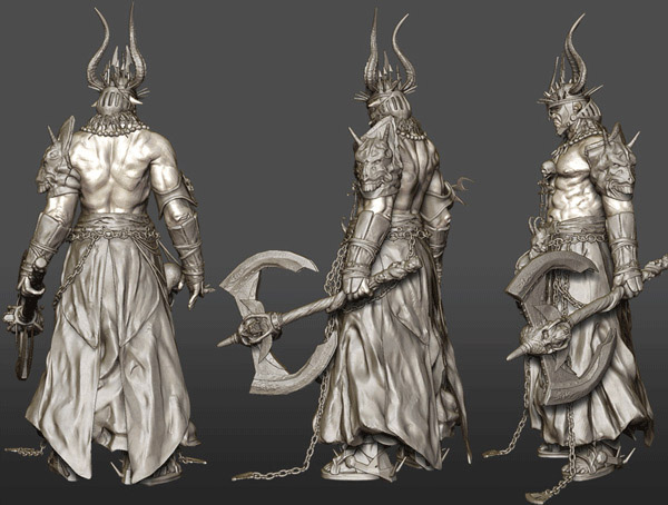 3d character model design john cheangs