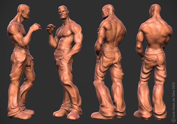 3d character model design jose alves 19