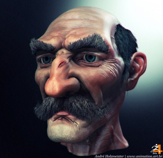 andre holzmeister 3d art 18