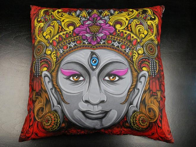 balinese mask artwork 5