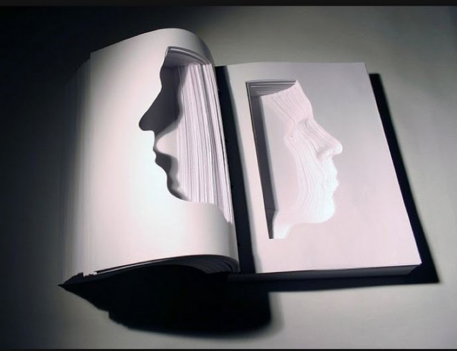 book sculpture 7