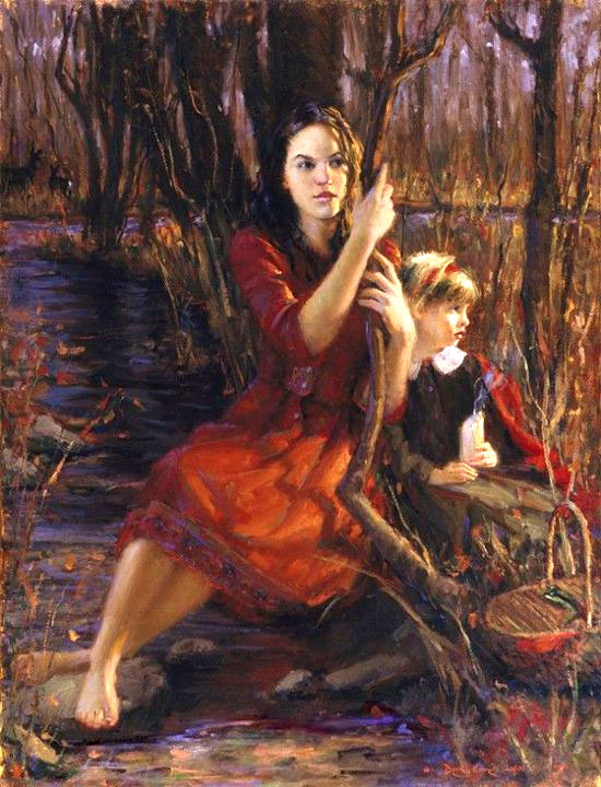 bryce cameron liston oil painting