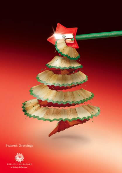creative christmas ads