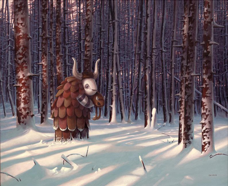 Digital paintings from Artist Shane Devries 4