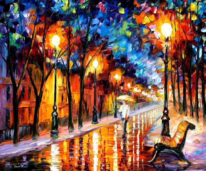 colorful painting best beautiful leonid afremov vivid colored oil acrylic water color (15)