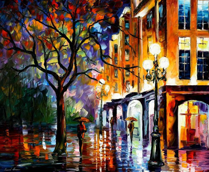 colorful painting best beautiful leonid afremov vivid colored oil acrylic water color (5)