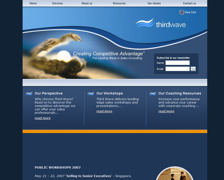 third wave home page