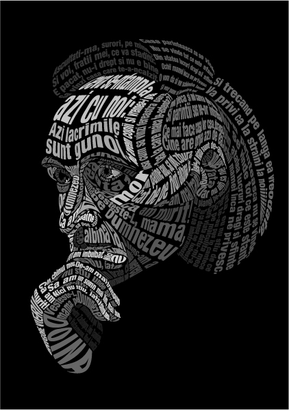 typography portraits 1 2