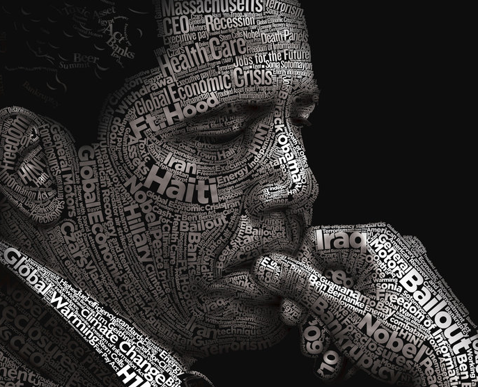 typography portraits