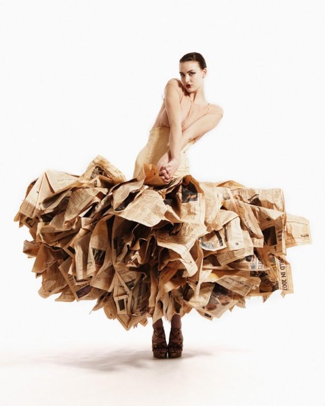 unusual fashion dress 1