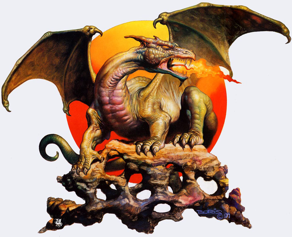 boris vallejo painting