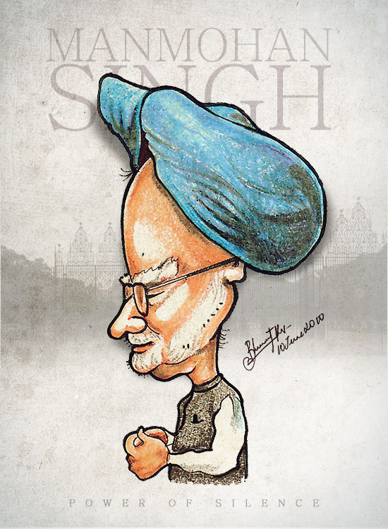 caricature by bharat kv (2)
